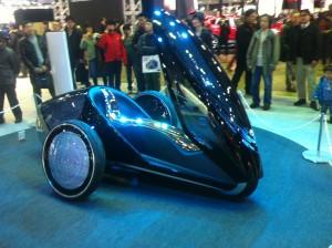 トヨタのコンセプトバイク