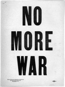 no mroe war